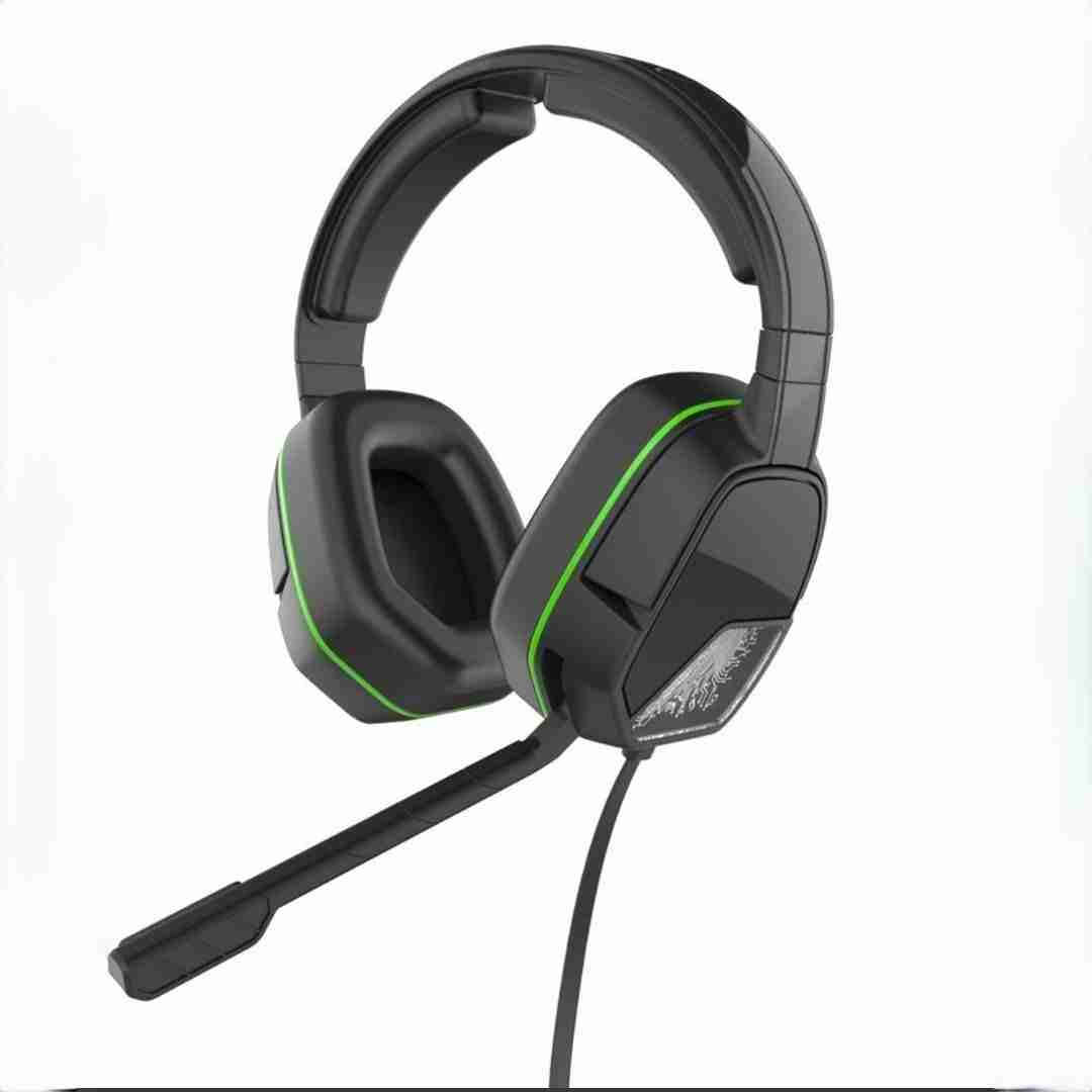 HEADSET XBOX ONE PDP AFTERGLOW LVL 3 NEGRO Y VERDE